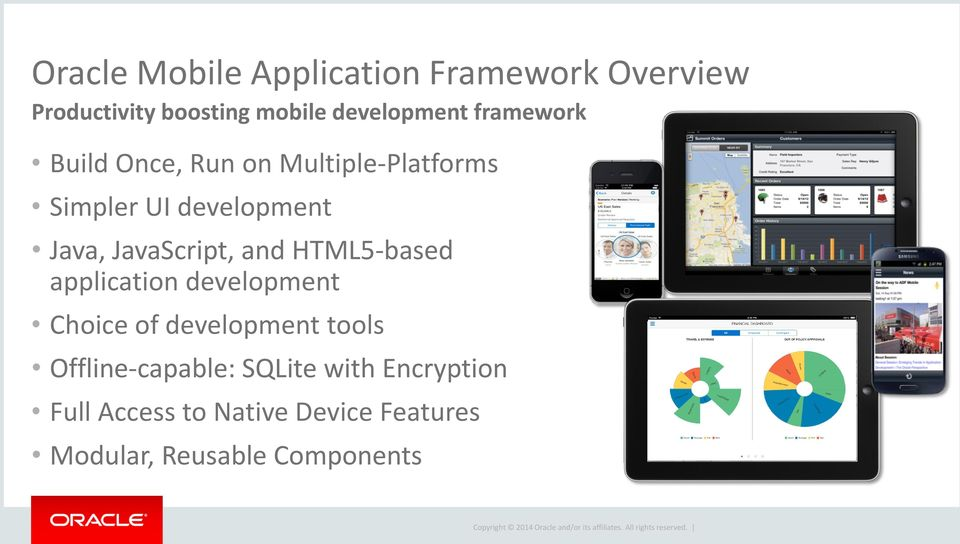 JavaScript, and HTML5-based application development Choice of development tools