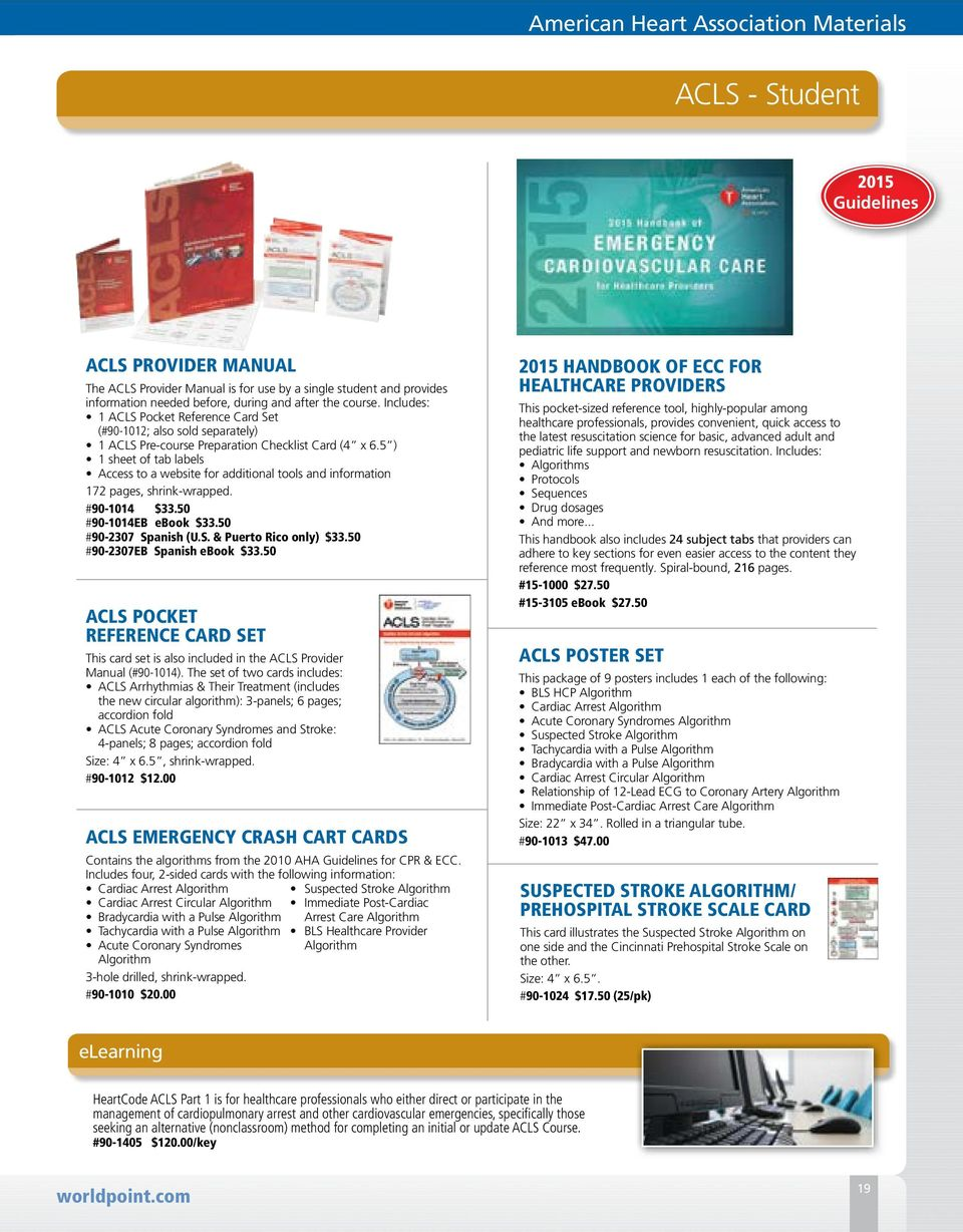 Stemi Provider Manual Professional With Ecg Acs Ruler Ebook