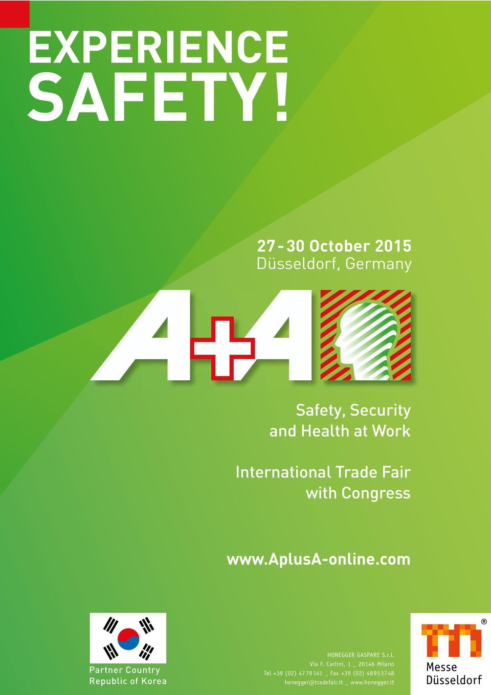 International Trade Fair with Congress www.aplusa-online.