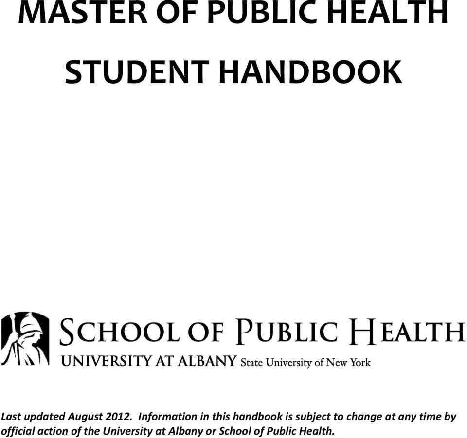 Information in this handbook is subject to change