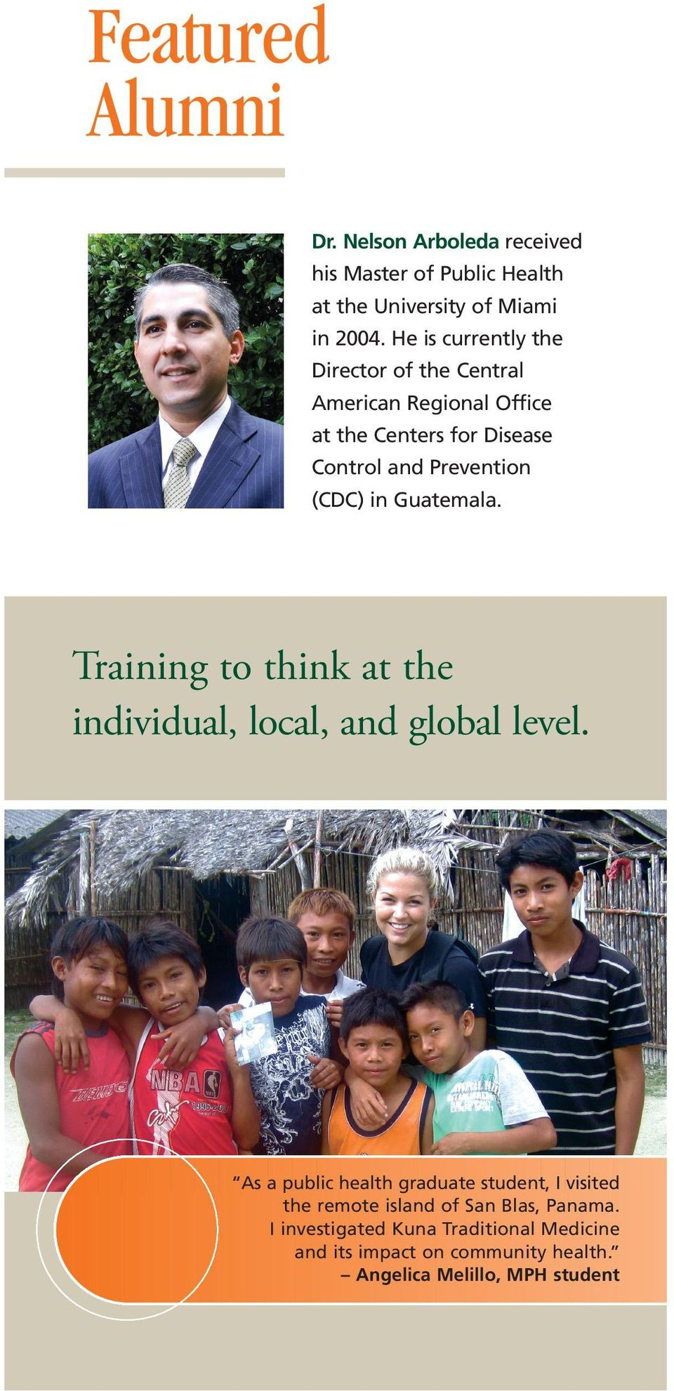 Guatemala. Training to think at the individual, local, and global level.