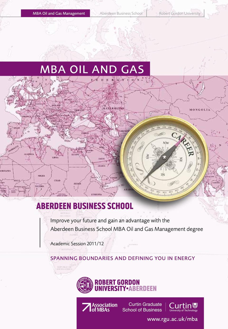 advantage with the Aberdeen Business School MBA Oil and Gas Management degree