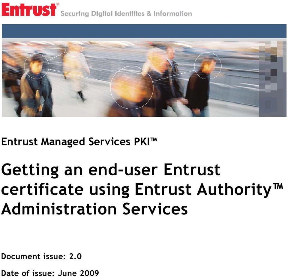 Entrust Authority Administration