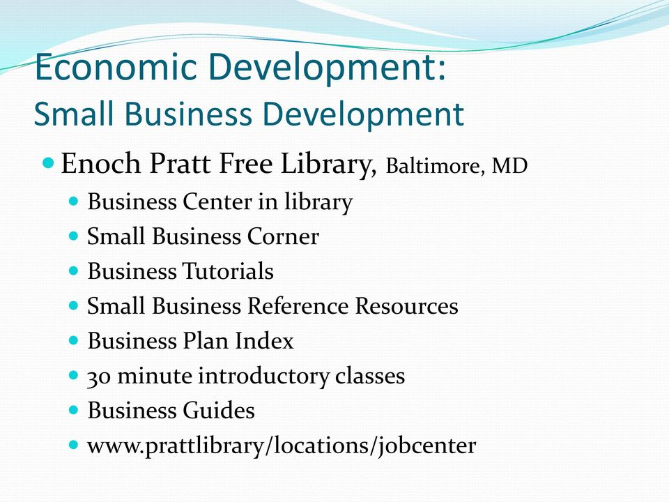Business Tutorials Small Business Reference Resources Business Plan Index