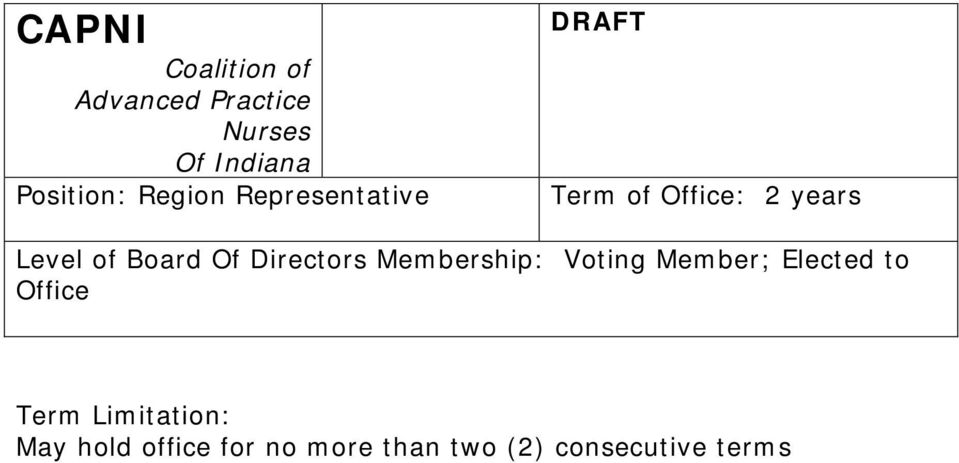 Member; Elected to Office May hold