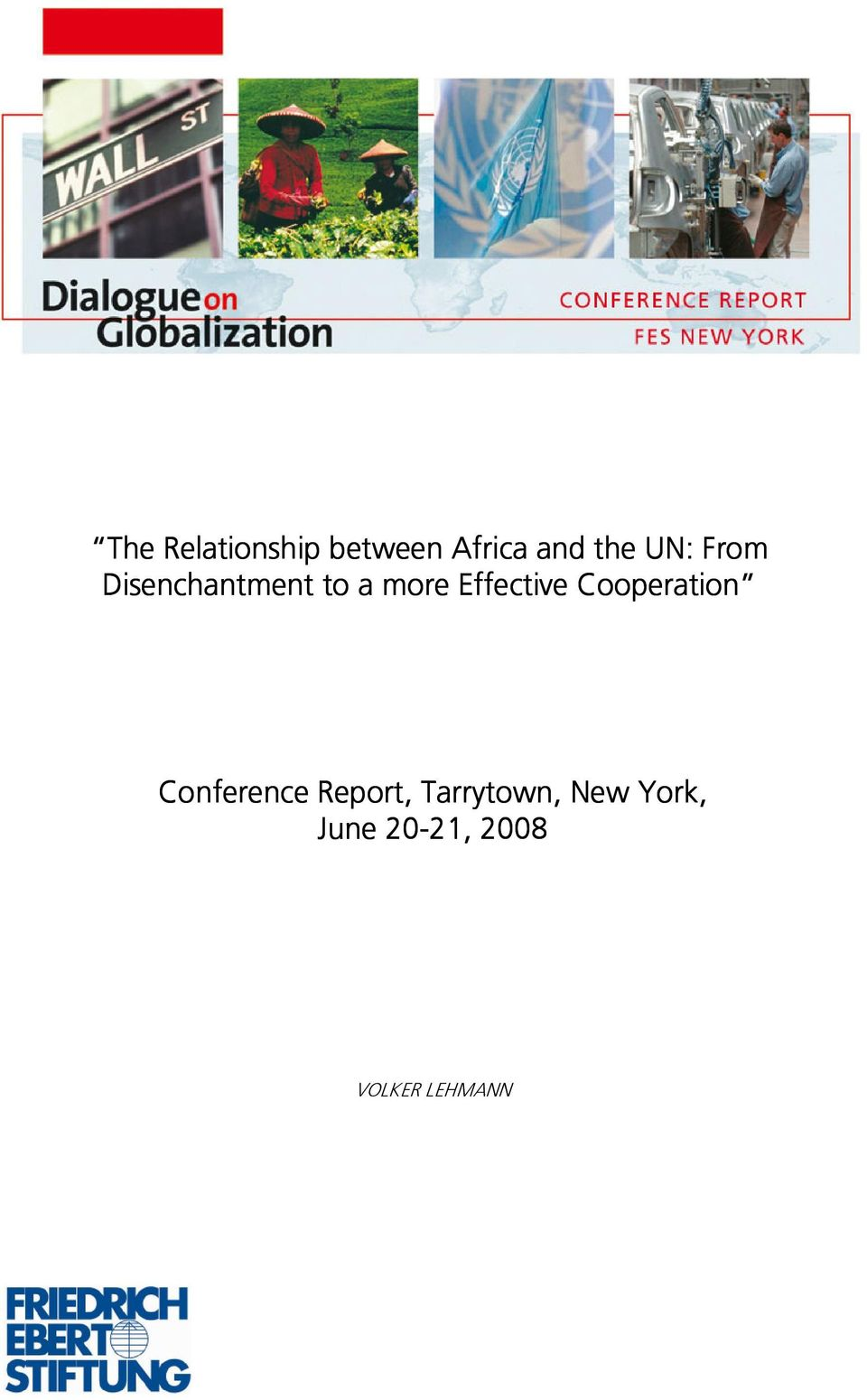 Effective Cooperation Conference Report,