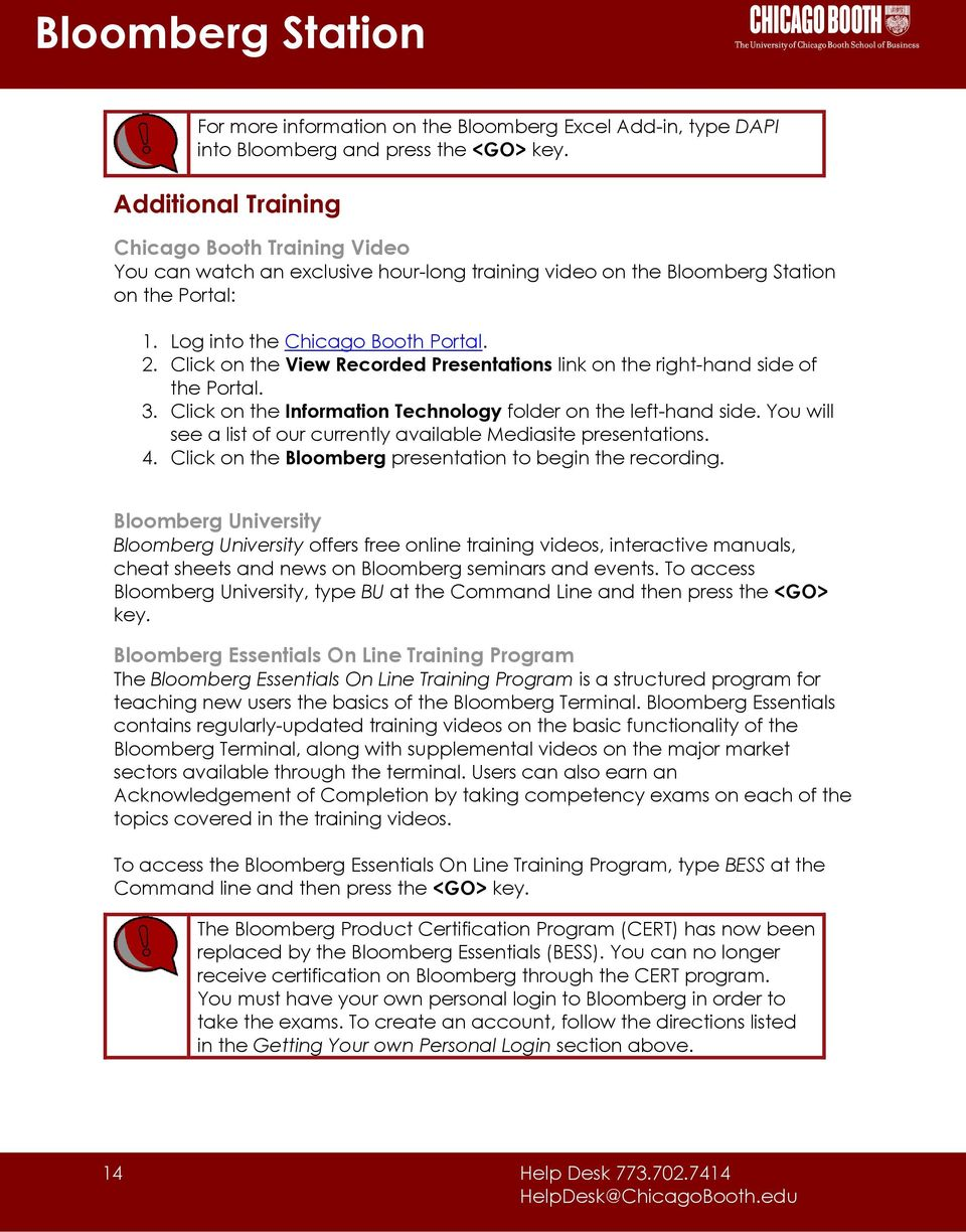 Q. How can I get a Bloomberg Market Concepts (BMC) Certificate of Completion?