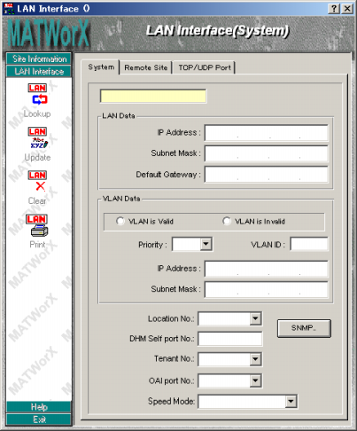 Chapter 5 Add-Ins <LAN Interface> [MATWorX Ver.4.5 or later required] [Series 3000 software (R4.