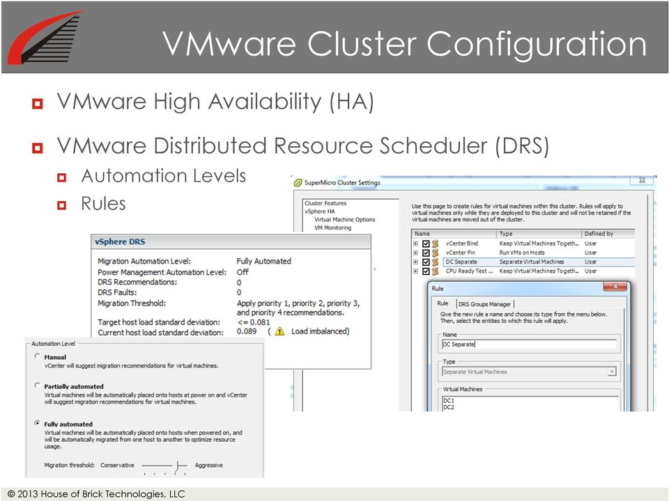VMware Distributed Resource