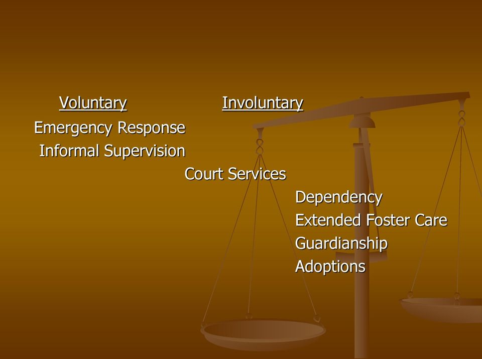 Court Services Dependency