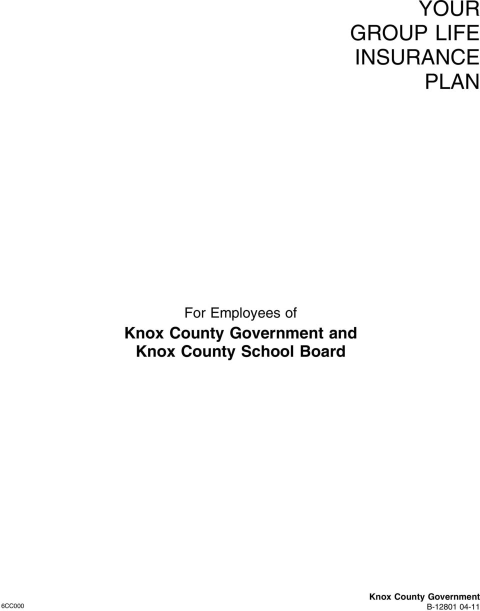 and Knox County School Board Knox
