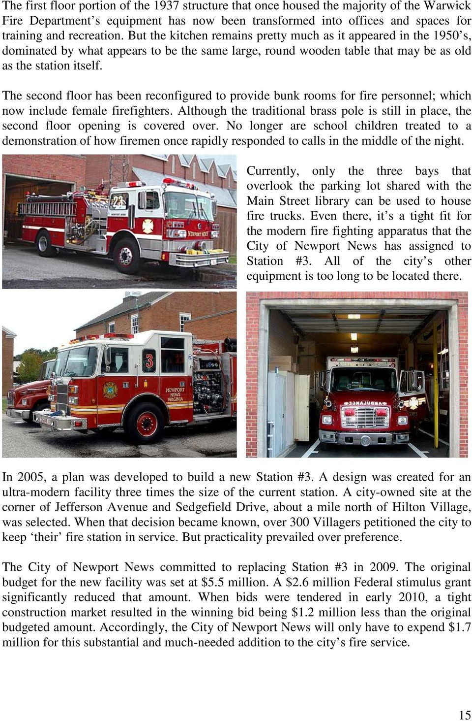 A History of Fire Protection within Hilton Village - PDF