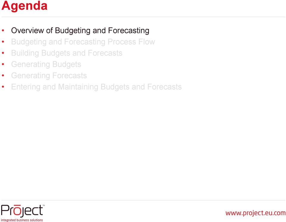 How Do Budgeting and Financial Forecasting Differ