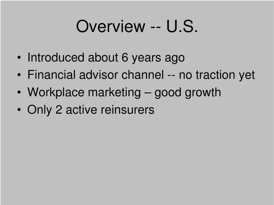 Financial advisor channel -- no