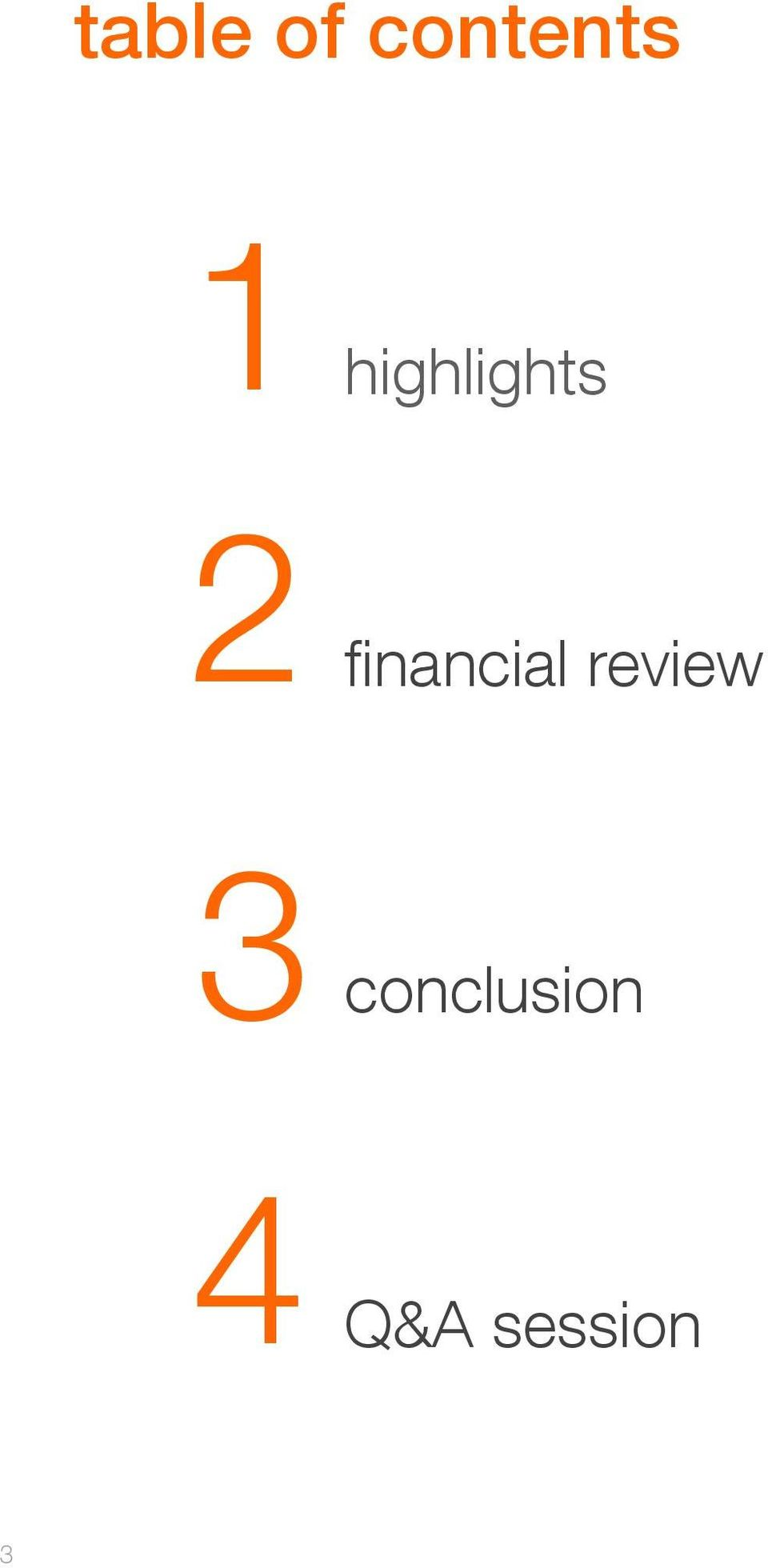 financial review 3