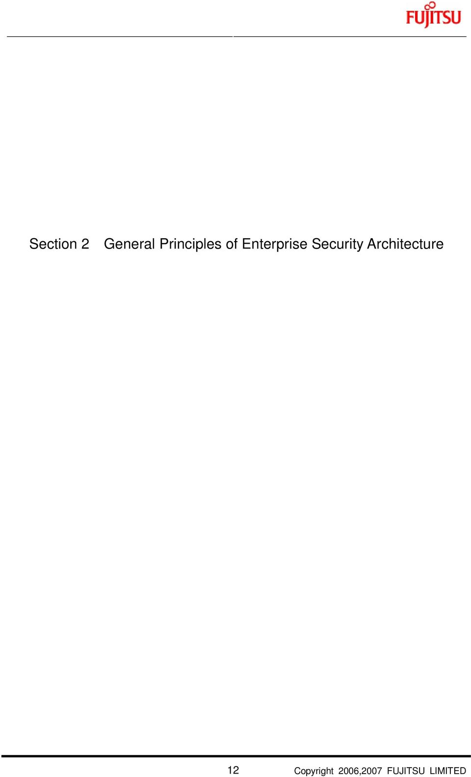 Security Architecture 12