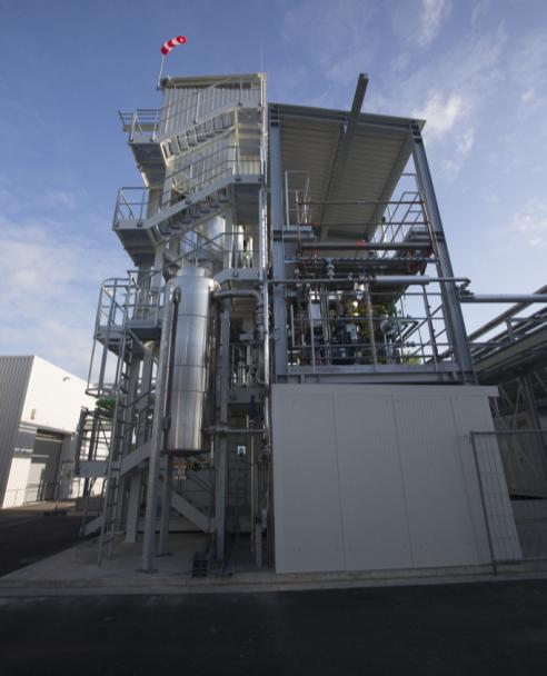Power-to-Gas plant Audi (Werlte, Emsland) Electrolyser (3
