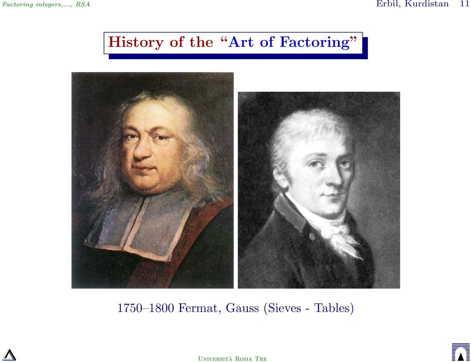 History of the Art of