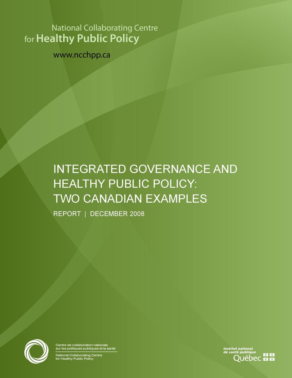 ca INTEGRATED GOVERNANCE AND HEALTHY