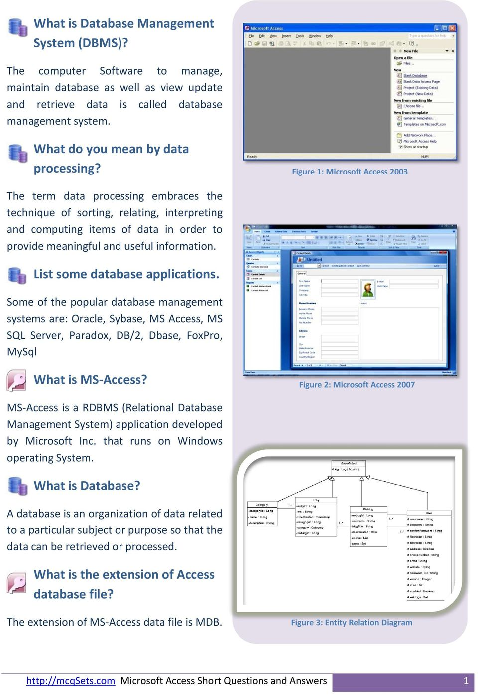 microsoft access 2003 templates