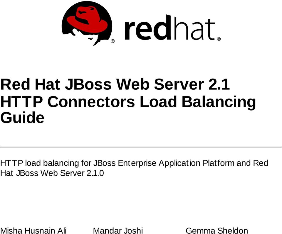 balancing for JBoss Enterprise Application Platform