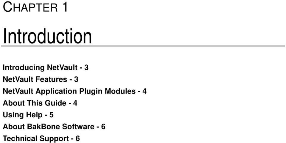 Plugin Modules - 4 About This Guide - 4