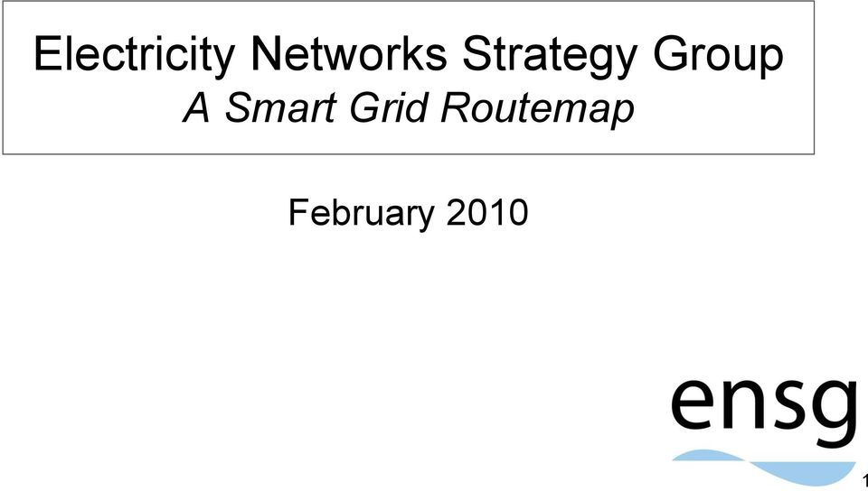Group A Smart Grid