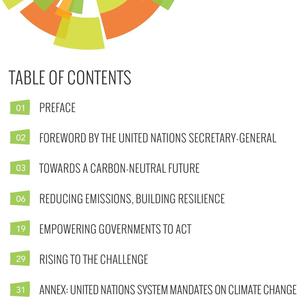 EMISSIONS, BUILDING RESILIENCE EMPOWERING GOVERNMENTS TO ACT RISING