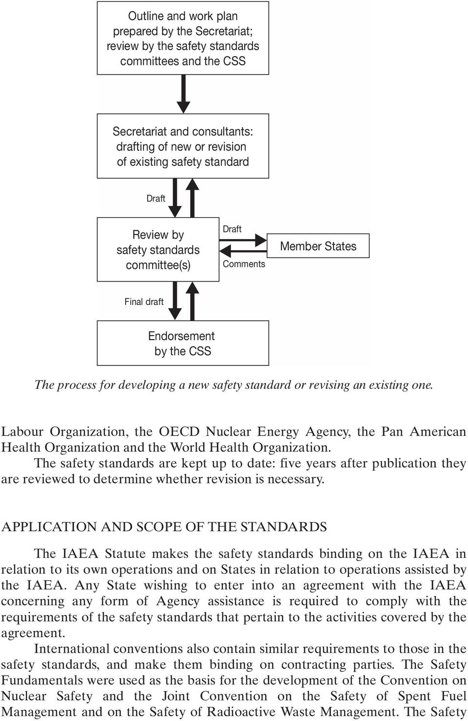 Labour Organization, the OECD Nuclear Energy Agency, the Pan American Health Organization and the World Health Organization.