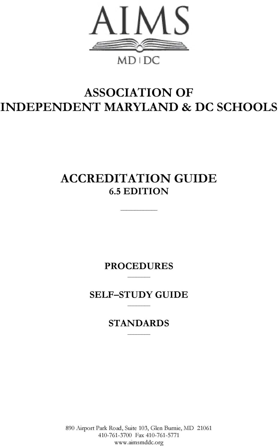 5 EDITION PROCEDURES SELF STUDY GUIDE STANDARDS 890