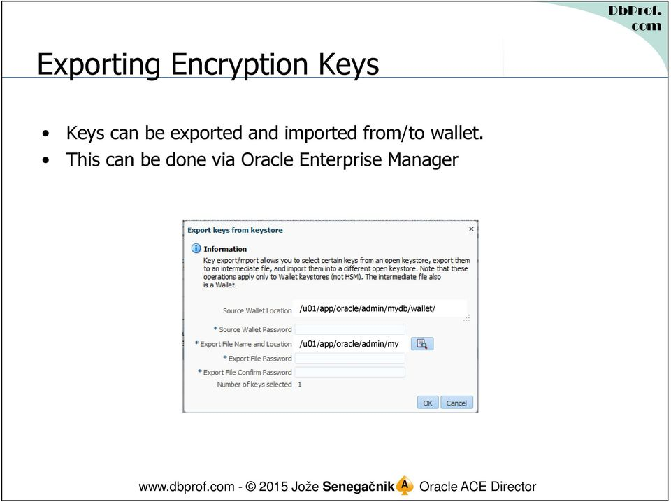 This can be done via Oracle Enterprise Manager