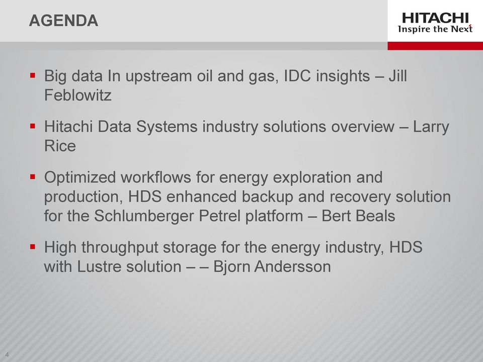 production, HDS enhanced backup and recovery solution for the Schlumberger Petrel platform