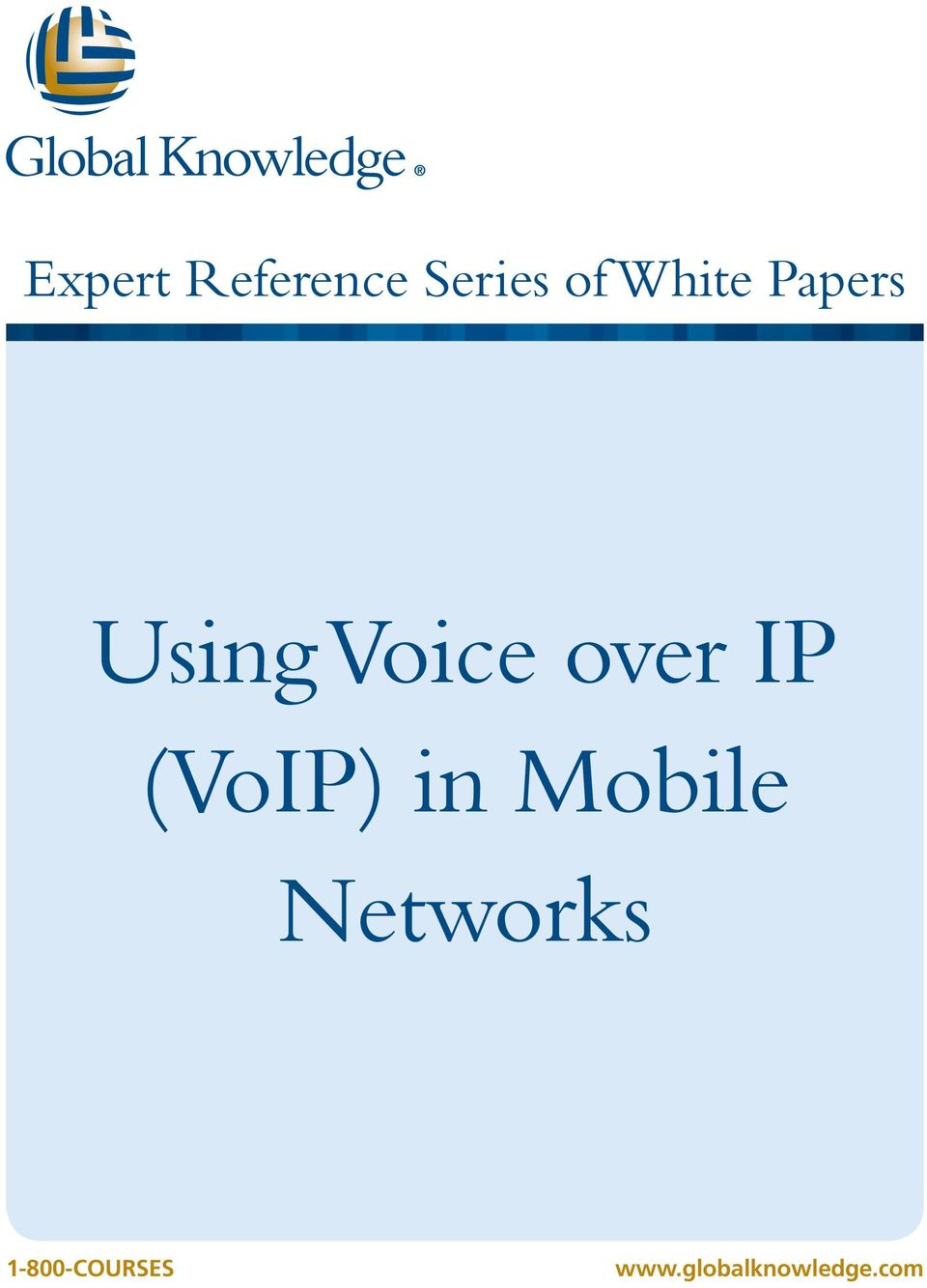IP (VoIP) in Mobile Networks