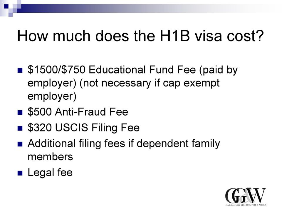 necessary if cap exempt employer) $500 Anti-Fraud Fee