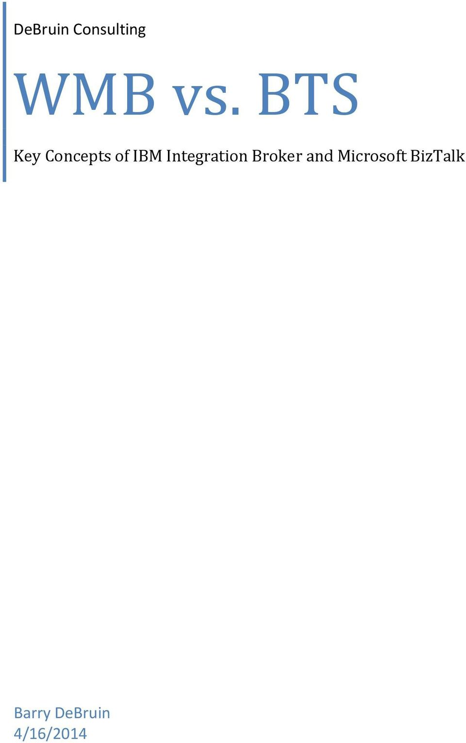 Integration Broker and