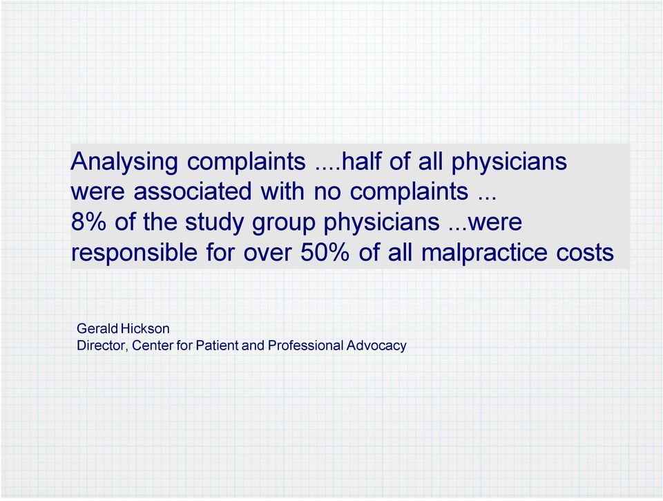 .. 8% of the study group physicians.