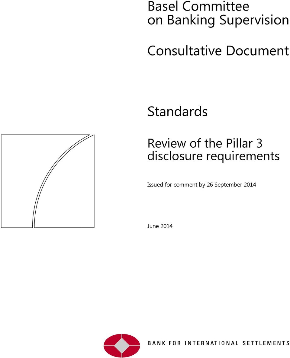 the Pillar 3 disclosure requirements