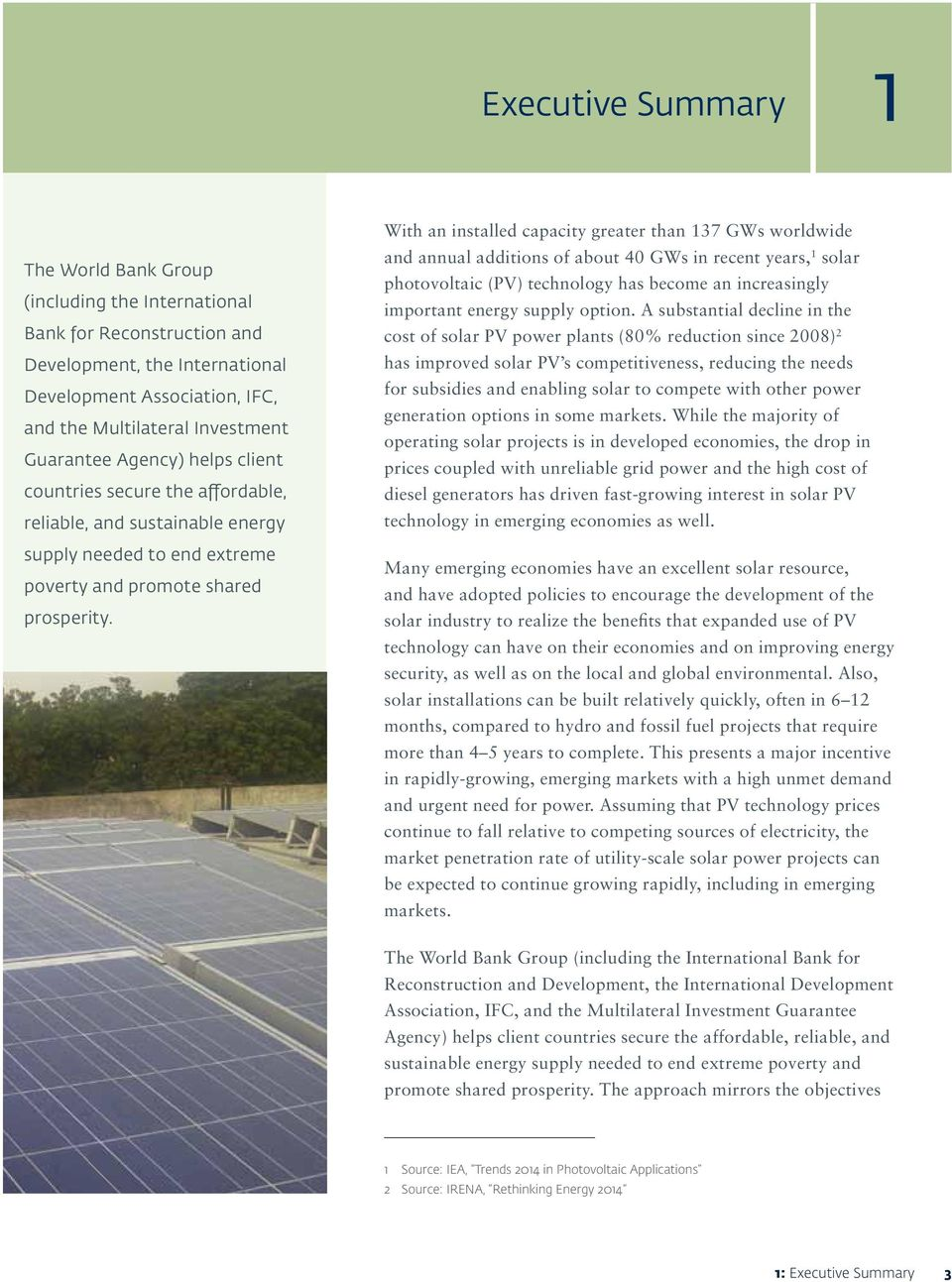 Utility Scale Solar Photovoltaic Power Plants A Project Developer S Questions About Renewable Energy Photo Voltaic Roi Tco With An Installed Capacity Greater Than 137 Gws Worldwide And Annual Additions Of 40 12 The Sustainable
