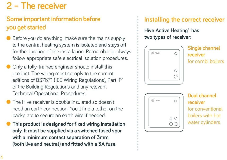 Installation guide for hive active heating pdf the wiring must comply to the current editions of bs7671 iee wiring regulations cheapraybanclubmaster Images