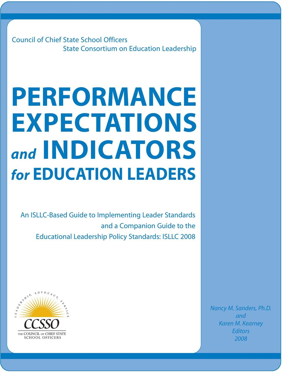 to Implementing Leader Standards and a Companion Guide to the Educational