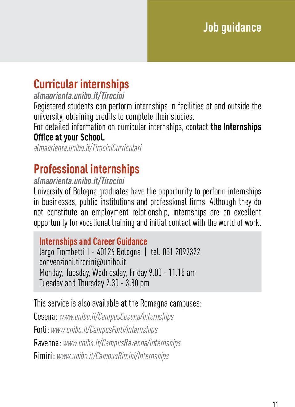 it/tirocinicurriculari Professional internships almaorienta.unibo.
