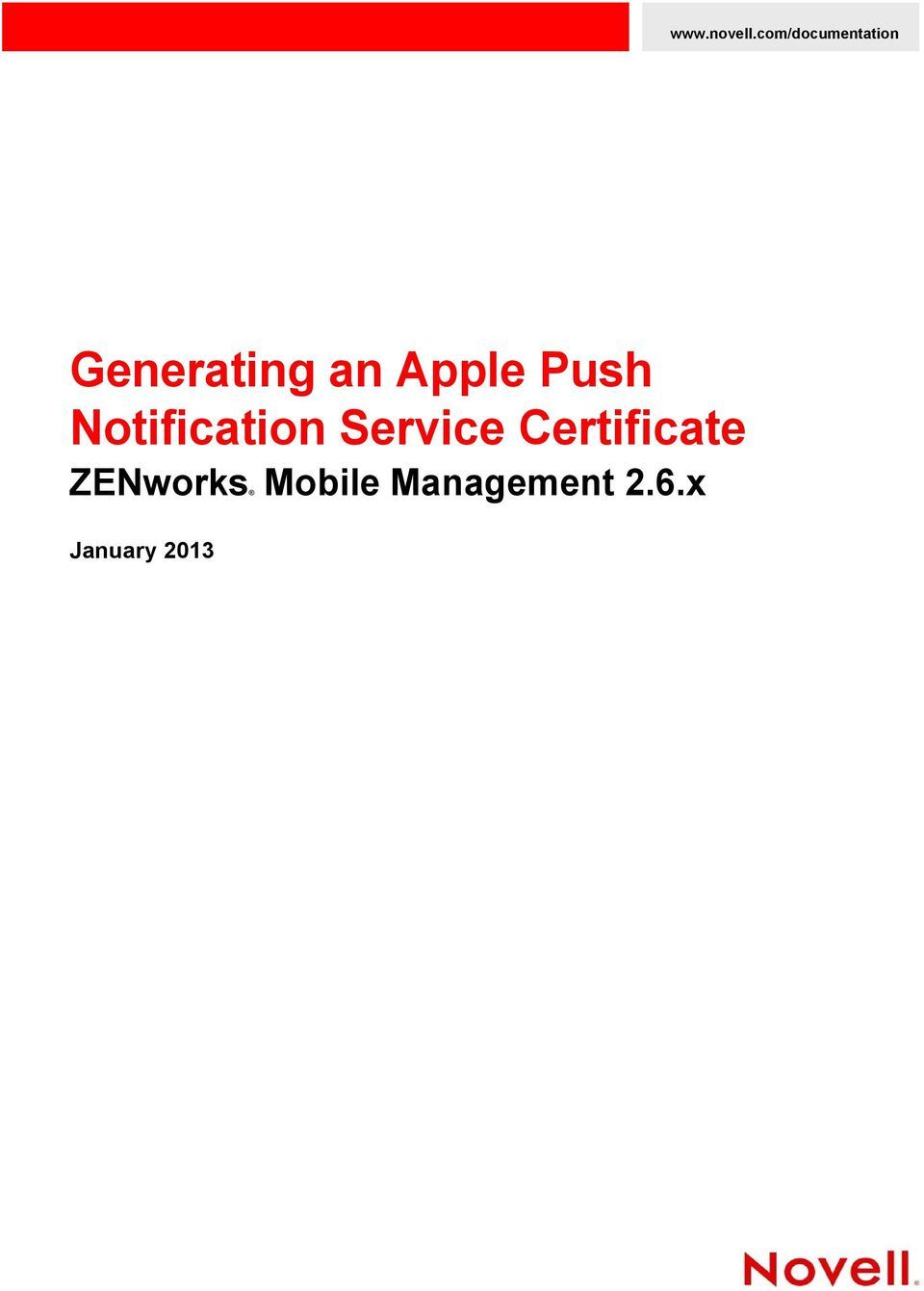 Apple Push Notification Service
