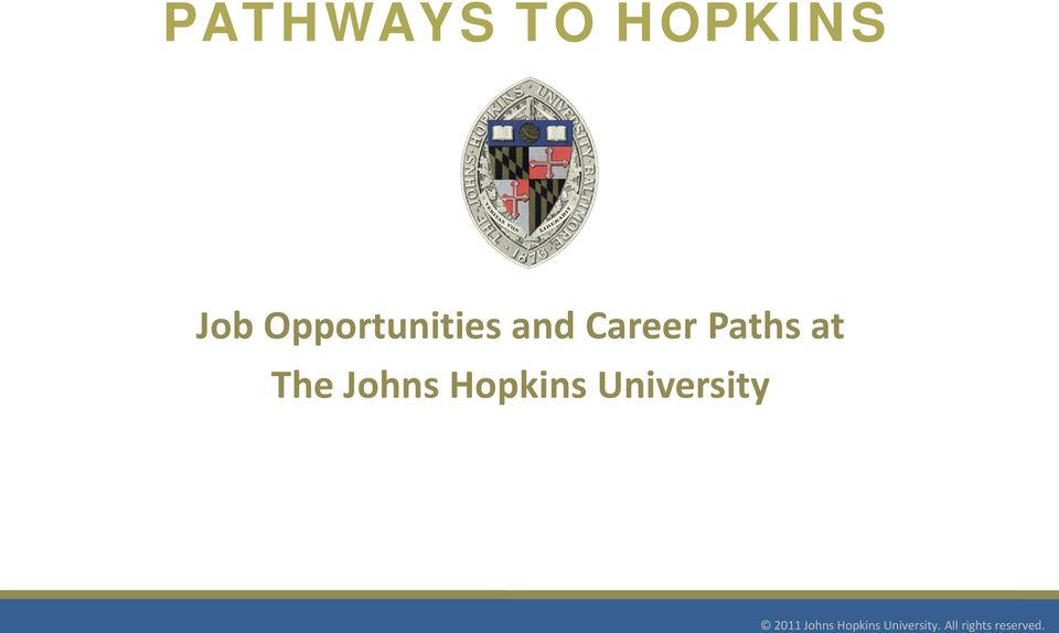 Career Paths at The