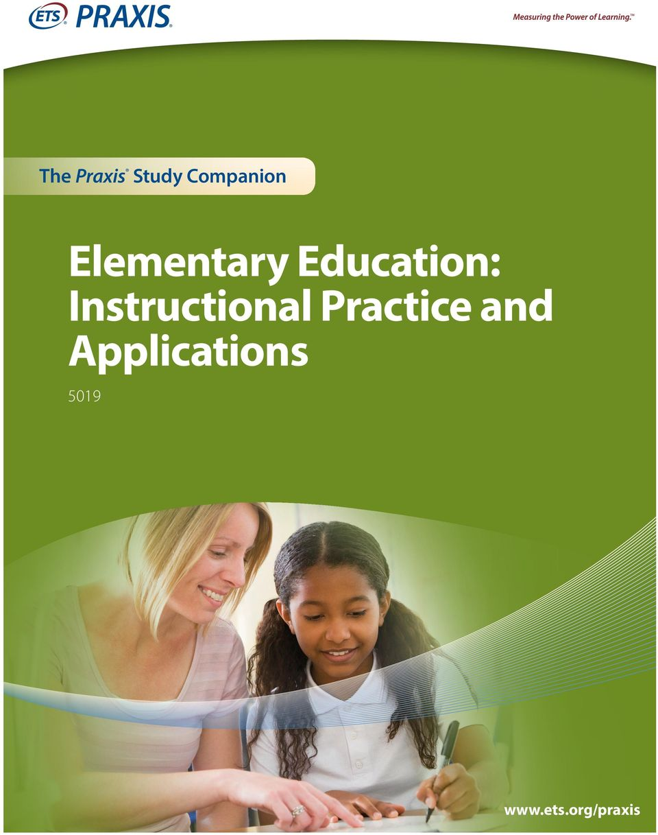 Elementary Education Instructional Practice And Applications Pdf