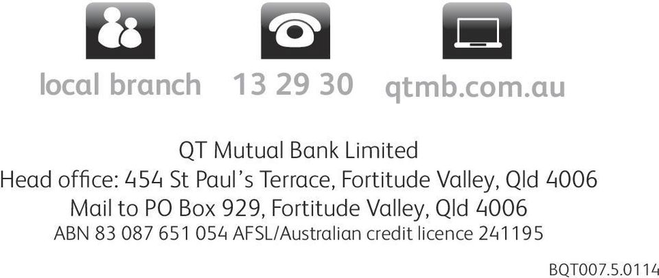 Terrace, Fortitude Valley, Qld 4006 Mail to PO Box 929,