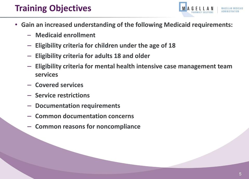 older Eligibility criteria for mental health intensive case management team services Covered services