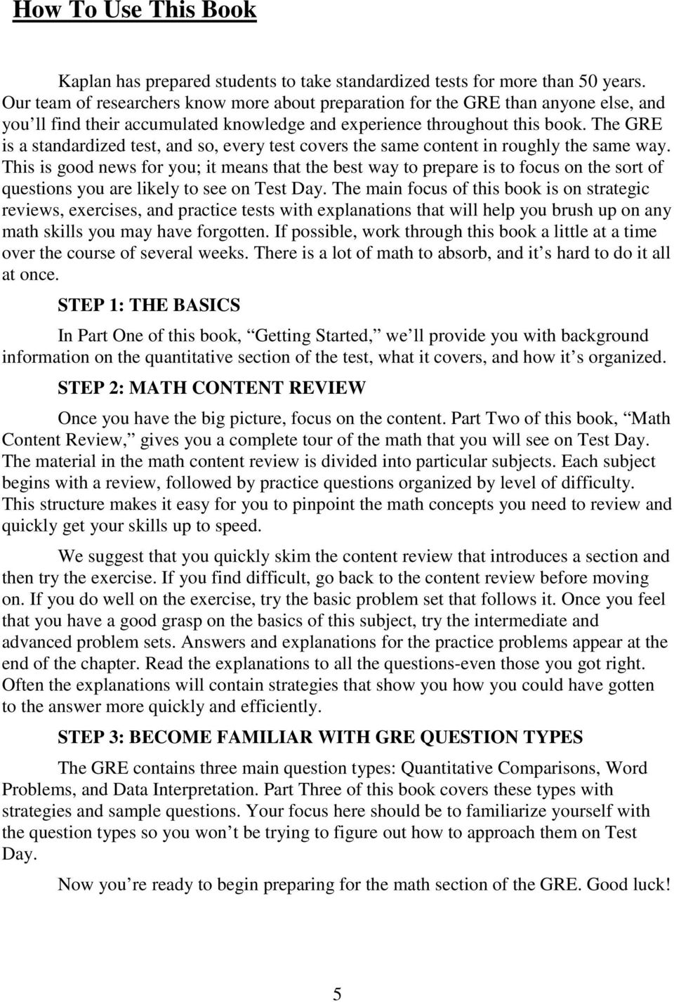Gre exam math workbook seventh edition pdf the gre is a standardized test and so every test covers the same content fandeluxe Gallery