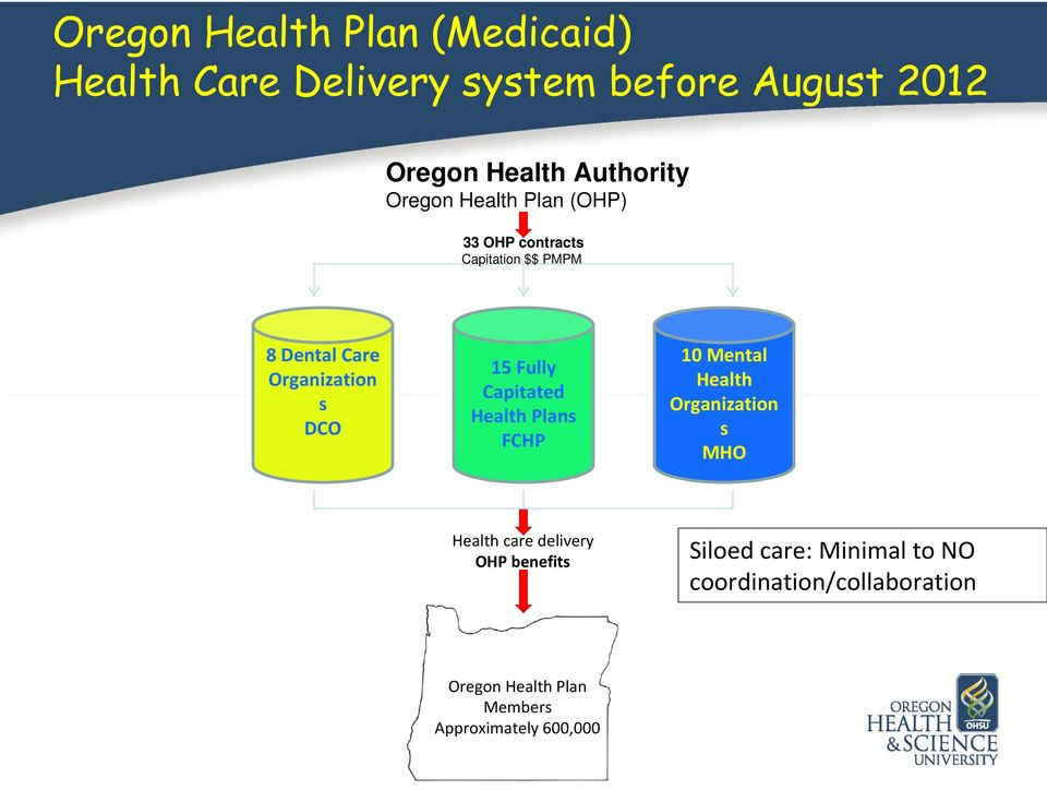 Fully Capitated Health Plans FCHP 10 Mental Health Organization s MHO Health care delivery OHP