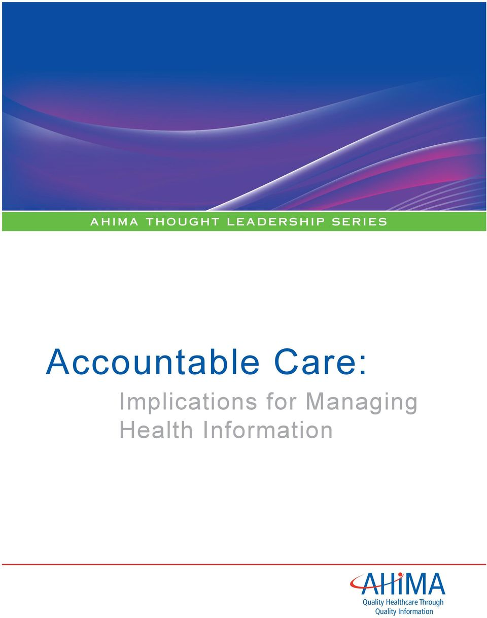 Health Information Quality