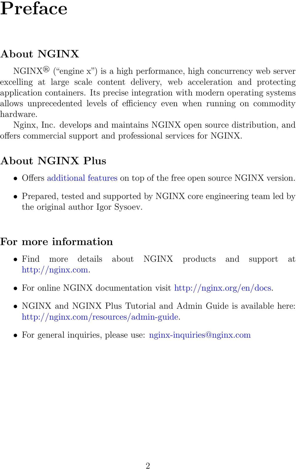 NGINX Plus Reference Guide - PDF